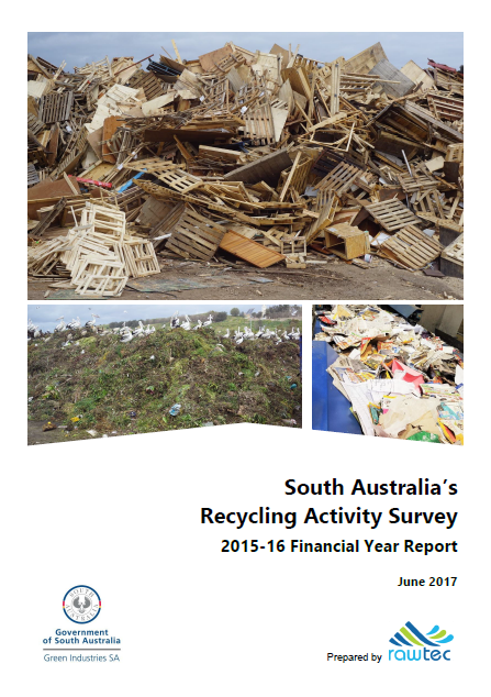 Recycling Activity in South Australia 2015-16